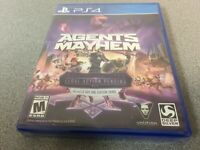 Agents of Mayhem (Sony PlayStation 4, 2017) PS4 NEW