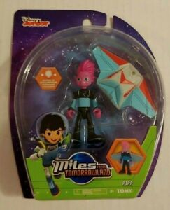 Disney Jr Miles from Tomorrowland Pipp Figure Brand New Tomy