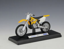 1:18 Welly SUZUKI RM250 Motocross Motorcycle Bike Model New in Box