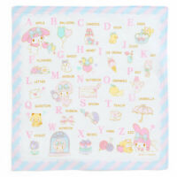 New SANRIO My Melody Cute ABC handkerchief learning English words etiquette