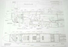 ** TOP FLITE ** P-51D ** GIANT SCALE MODEL AIRPLANE PLANS 84.5 INCH WING OEM