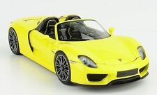 MINICHAMPS 2013 Porsche 918 Spyder Yellow 1:18 LE 504pcs *Nice New Color!