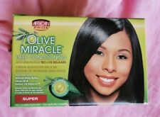 African Pride Olive Miracle No-Lye Relaxer - Super- Australia Stock