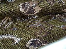 "NEW Italian GORGEOUS Chenille JACQUARD Cloque Fabric 60"" 153cm Belle Gabbana She"