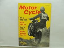 July 1964 The Motorcycle Magazine Dutch Grand Prix BSA Sunbeam Scooter L10902