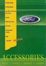 Ford Accessories 1995 UK Market Sales Brochure Fiesta Escort Mondeo Scorpio