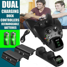 Dual Charging Dock Charger Station Stand for Microsoft XBOX ONE X/XBOX ONE Slim