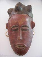 très ancien masque africain début 20èmes african art afrikanische kunst tribal