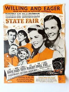 Willing and Eager from State Fair Musical, Sheet Music, Rodgers and Hammerstein