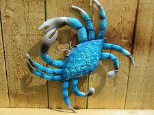 Crab Garden Ornament Blue Crab Garden Wall Art - NEW