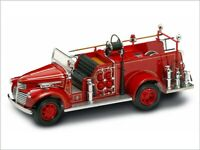 GMC Firetruck     1941    Feuerwehr, rot 1:24  Yat Ming