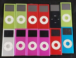 Bundle of 12 Untested Apple iPod MP3 Players - AS-IS - LOT
