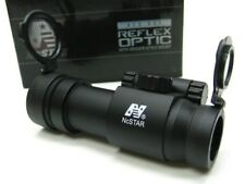 Ncstar Tactical Black Red Dot Sight Rifle Scope + Weaver Ring DP130