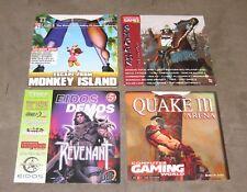 Game Promo sample on CD ROM lot of 4, Shogun Total War, Quake III, Revenant...