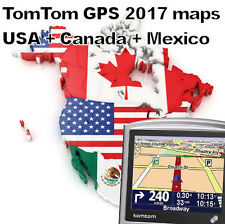 +++ GPS TomTom ONE | USA CANADA and MEXICO maps (2017) | perfect Navigator +++