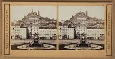 LE PUY Photo Sabatier STEREO Vintage albumine ca 1875