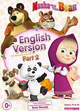 MASHA AND THE BEAR PART 2 (19-36) ENGLISH VERSION DVD NTSC MASHA  I MEDVED