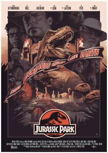 Jurassic Park Movie Film When Dinosaurs Ruled The Earth Poster - No Frame