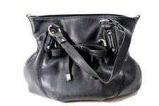 Elle Black Purse Handbag Small Tote Bag