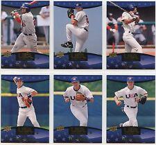 2008 Upper Deck USA Box Set Complete Base Set (60 Cards) Smoak, Hosmer, Lynn