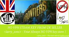 FRONTIERS Steam key NO VPN Region Free UK Seller