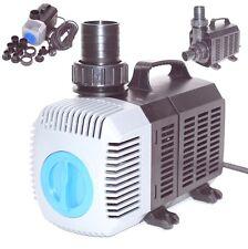 Teichpumpe SuperECO Bachlaufpumpe Filterpumpe Teichfilter Wasser Skimmer Pumpe