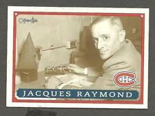 1993 OPC Fanfest Puck Canadiens' & CBC' Jacques Raymond
