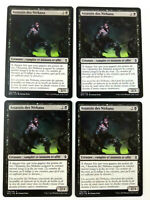 MTG Magic Playset 4x Assassin des Nirkana  Bataille de Zendikar  NM VF