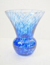 "Beautiful Vintage Blue BUD VASE / Approx. 3"" tall"