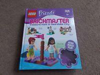 LEGO - FRIENDS ( TREASURE HUNT IN HEARTLAKE CITY ) BRICKMASTER BOOK ) - COMPLETE