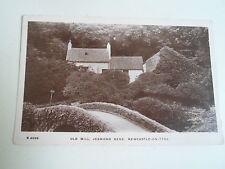 G115 Nostalgic RPPC Old Mill, Jesmond Dene Franked & Stamped Alnwick 1911