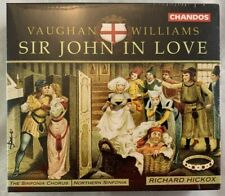 CD Box Set BRAND NEW Vaughan Williams Sir John In Love Halcox Chandos Classical