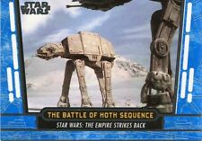 Star Wars 40th Anniversary Blue Base Card #27 The Battle of Hoth