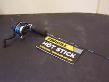 "frabill ice fishing pole hot stick rod new 20"" with sub zero reel"