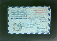 Germany 1950 60Pf Taxe Percue Letter Cover to USA (III) - Z2474