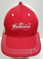 Budweiser 1876 Snapback Trucker Hat K Products New without Tags Mesh Back Cloth