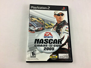 Playstation 2 (PS2) Nascar Chase For The Cup 2005 w/ Manual - USED, Free Ship