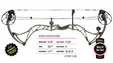 "Bowtech Reign 6 NIB 24"" to 30"" Right-Hand 60# to 70# Archery Compound Bow + Gift"