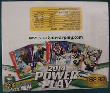 NRL 2014 Power Play Full Unoped Box ( SEALED )