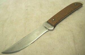1930's~WESTERN STATES CUTLERY~1ST ORIGINAL SHEATH KNIFE w/COPPER GLITTER HANDLE~