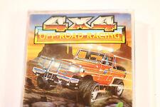 4 X 4 Off Road Racing ZX Spectrum 48k 128K +2 Cassette Game (ARCADE GAME) 1988