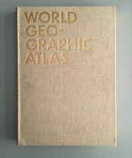 1953 Herbert Bayer WORLD GEOGRAPHIC ATLAS Container Corp. of America Slipcase Ed