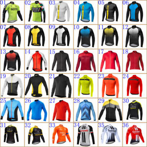 2021 Mens cycling jersey long sleeve Mtb Bike Shirt Bicycle jersey Cycling tops