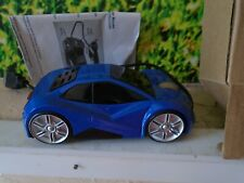 New AVON Car Shaped Computer Mouse Blue Cruising Car Mouse With Lights