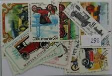 50 FRANCOBOLLI automobili, tutti diversi. (928)