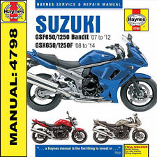 Paper Bandit Suzuki Motorcycle Manuals & Literature