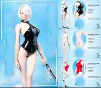 """1/6 Neil mechanical age 2B sister Siamese Leather Swimsuit F12"""" Female Body Doll"""