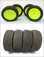 Gomme e cerchi set 4 pneumatici used pro line high quality auto rc radiocomando