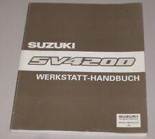 Werkstatthandbuch Suzuki Vitara SV 420 D Motor Getriebe Klima Elektrik Heizung!