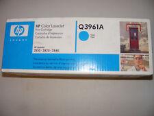 Genuine HP Q3961A Color LaserJet Print Cartridge Cyan - Sealed